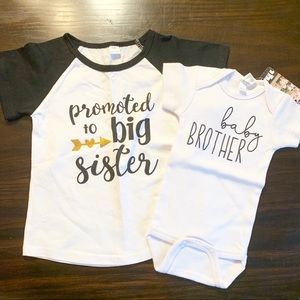 Big Sister•Little Brother Coming home outfits!